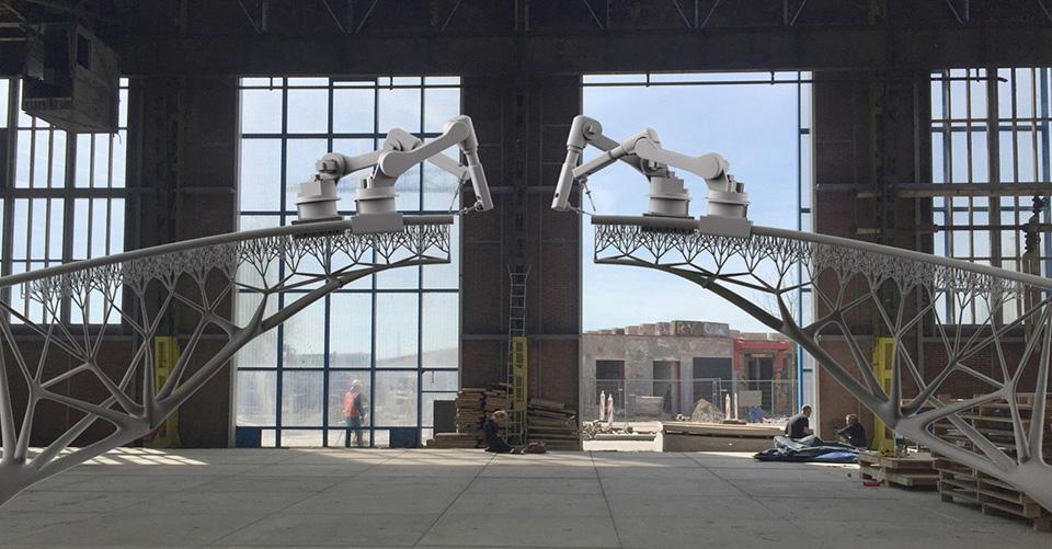 MX3D Bridge – 3D Printed Bridge Robots 2