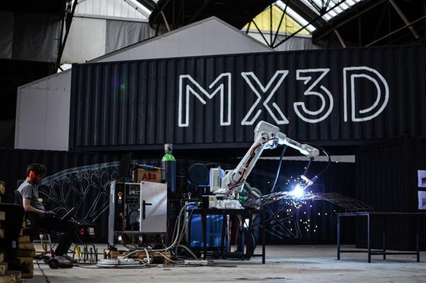 MX3D Bridge - 3D Printed Bridge Robots 7