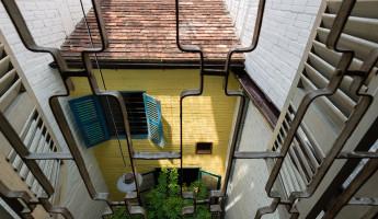Saigon House by a21studio 2
