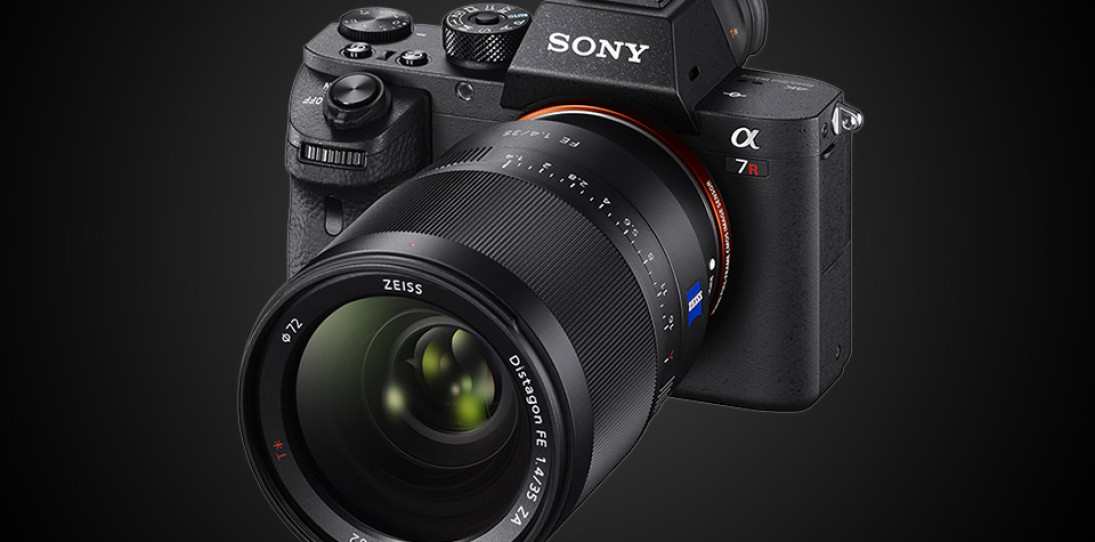 Sony A7Rii mirrorless full frame digital camera 1