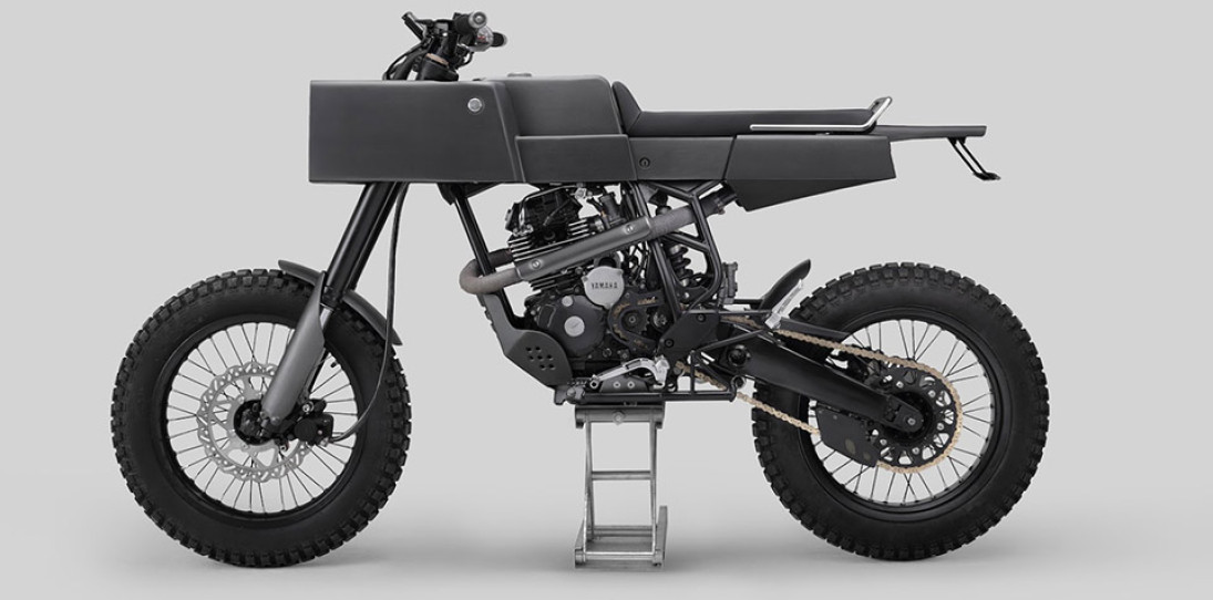 Thrive Motorcycles T005 Cross Yamaha Scorpio Custom 1