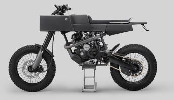 Thrive Motorcycles T005 Cross Yamaha Scorpio Custom 1