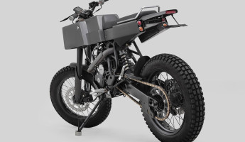 Thrive Motorcycles T005 Cross Yamaha Scorpio Custom 2