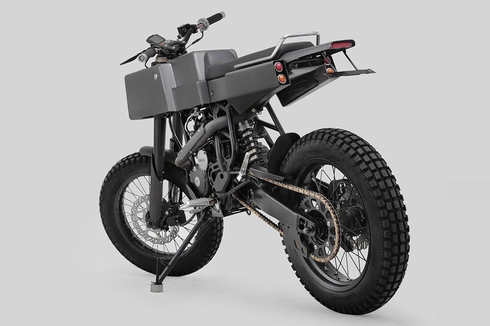 Thrive Motorcycles T005 Cross Yamaha Scorpio Custom 2