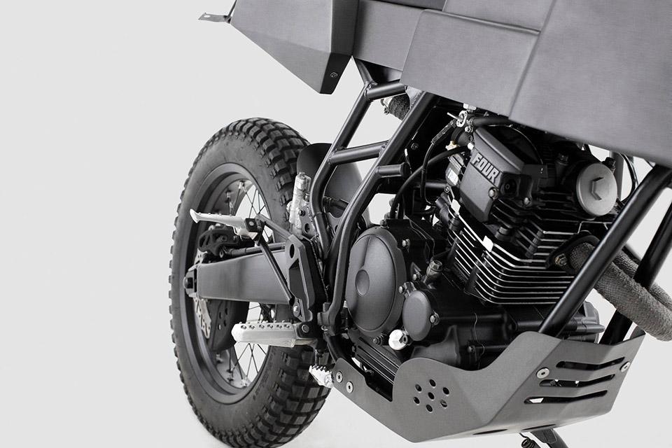 Thrive Motorcycles T005 Cross Yamaha Scorpio Custom 5