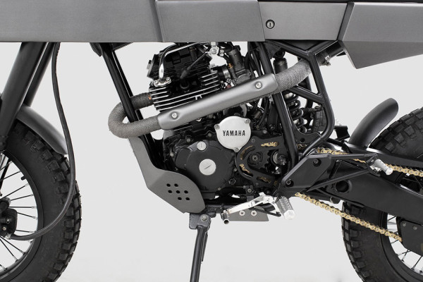 Thrive Motorcycles T005 Cross Yamaha Scorpio Custom 7