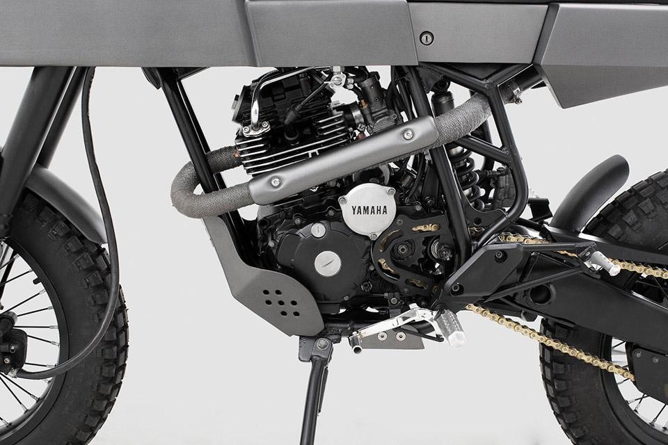 Thrive Motorcycles T005 Cross Yamaha Scorpio Custom 7