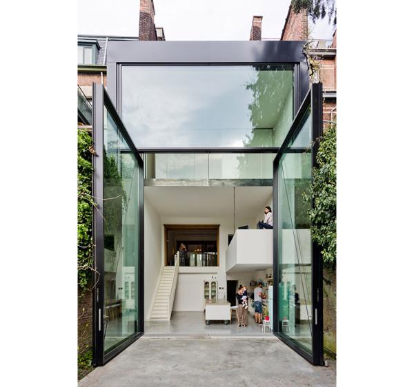 Townhouse in Antwerp by Sculp It 8