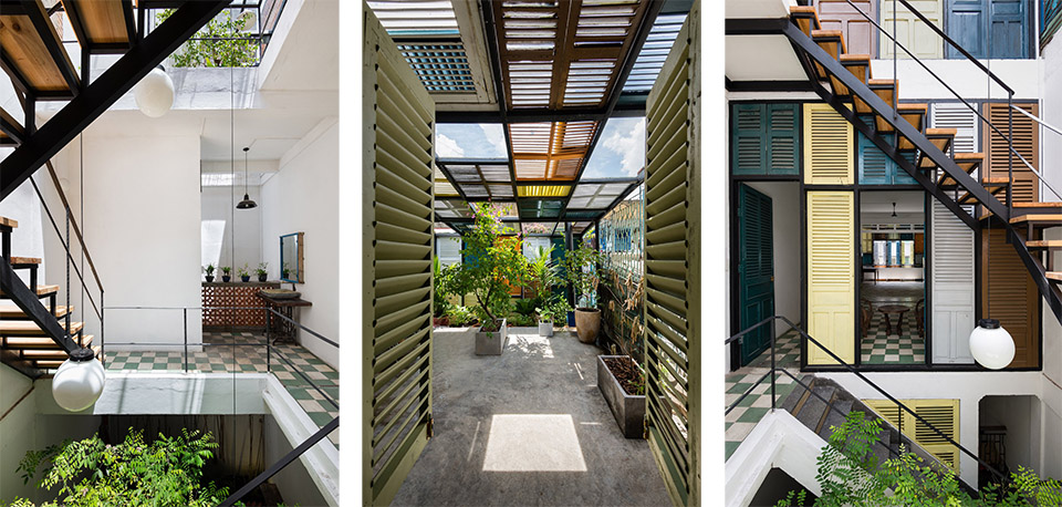 Vegan House by Block Architects Photo by Quang Tran hero Architect Transforms a Decaying Tenement into an Upcycled Urban Paradise
