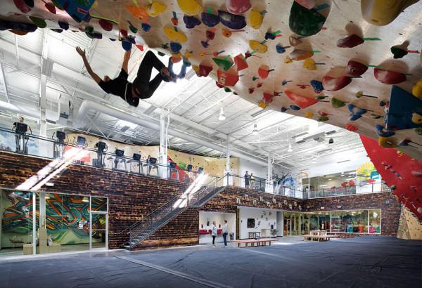 best climbing gyms - brooklyn boulders - somersville massachussetts