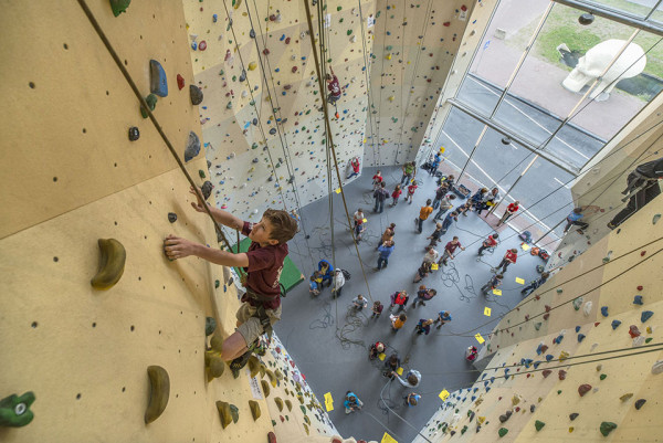 Video the most epic climbing gyms we ve ever seen