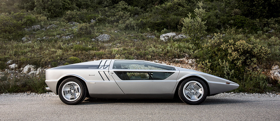 1972 Maserati Boomerang 12