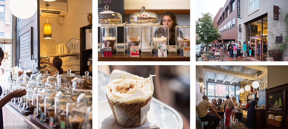 Georgetown Neighborhood - Baked and Wired Cupcake Shop