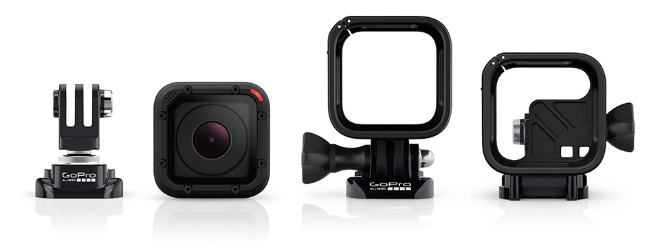 GoPro Hero 4 Session 3 Smaller is Better: The GoPro Hero 4 Session Continues the Action Cam Revolution