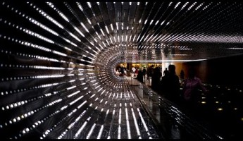 VIDEO: Exploring the Hypnotic Light Tunnel of Washington D.C.