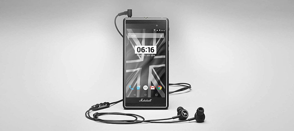 Marshall London Android Phone 8