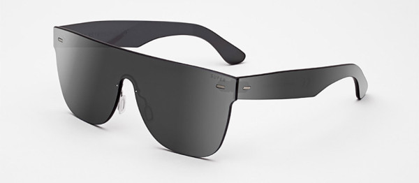 RetroSuperFuture Tuttolente Collection Sunglasses 5 600x262 A Bright Future: Every Bit of These Futuristic Sunglasses Are Made of Lens Glass