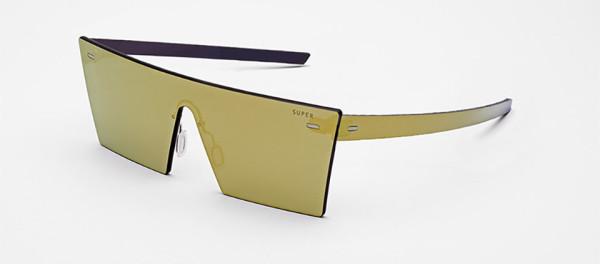 RetroSuperFuture Tuttolente Collection Sunglasses 8 600x264 A Bright Future: Every Bit of These Futuristic Sunglasses Are Made of Lens Glass