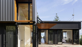 offSET Shed House by Irving Smith Jack Architects 1