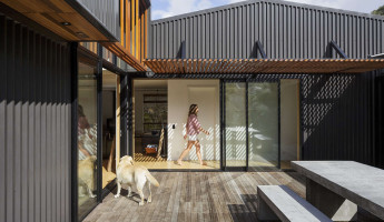 offSET Shed House by Irving Smith Jack Architects 5