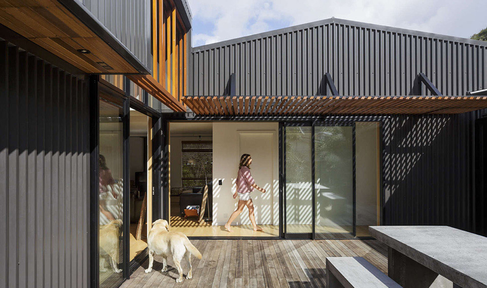 offSET Shed House by Irving Smith Jack Architects hero