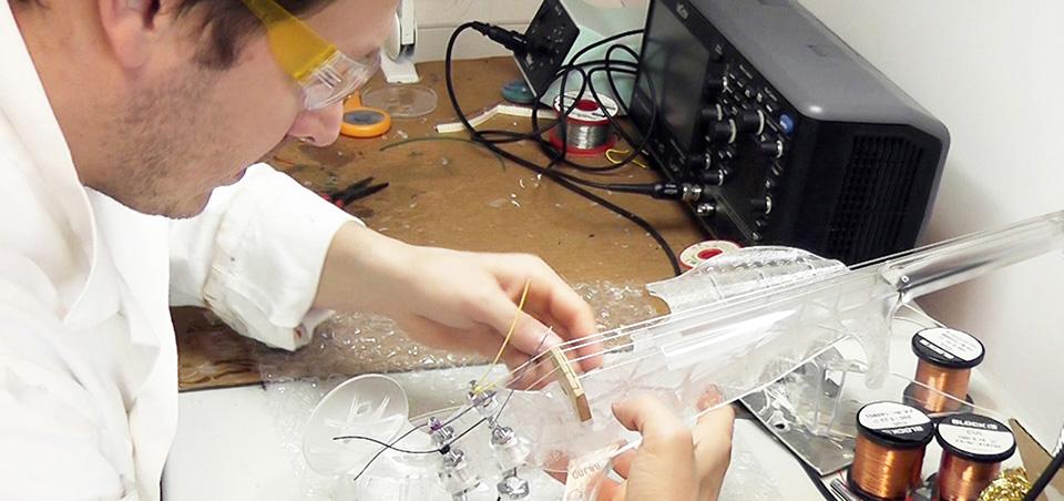 3Dvarius 3D Printed Violin Electric Violin 4