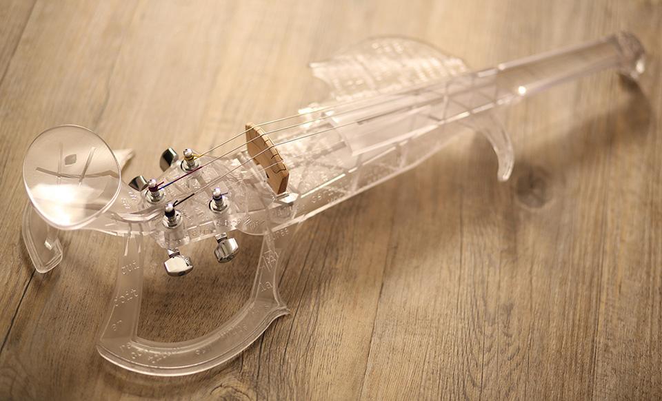 3Dvarius 3D Printed Violin Electric Violin 6