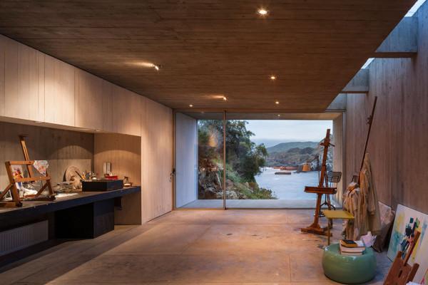 Concrete Painters Studio by Felipe Assadi - Photo by Fernando Alda 5