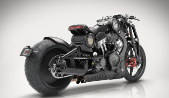 Confederate Motorcycles P51 G2 Combat Fighter 2