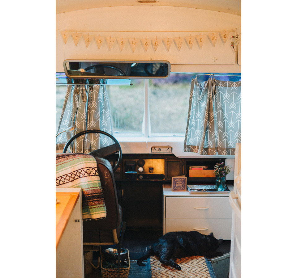 House Bus 1990 Bluebird Bus Mobile Home Conversion - Photo by Samuel Laubscher (3)