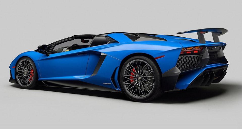 Lamborghini Aventador LP 750-4 SuperVeloce Roadster 3
