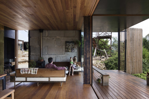 Sawmill House by Archier - Photography by Benjamin Hosking 9