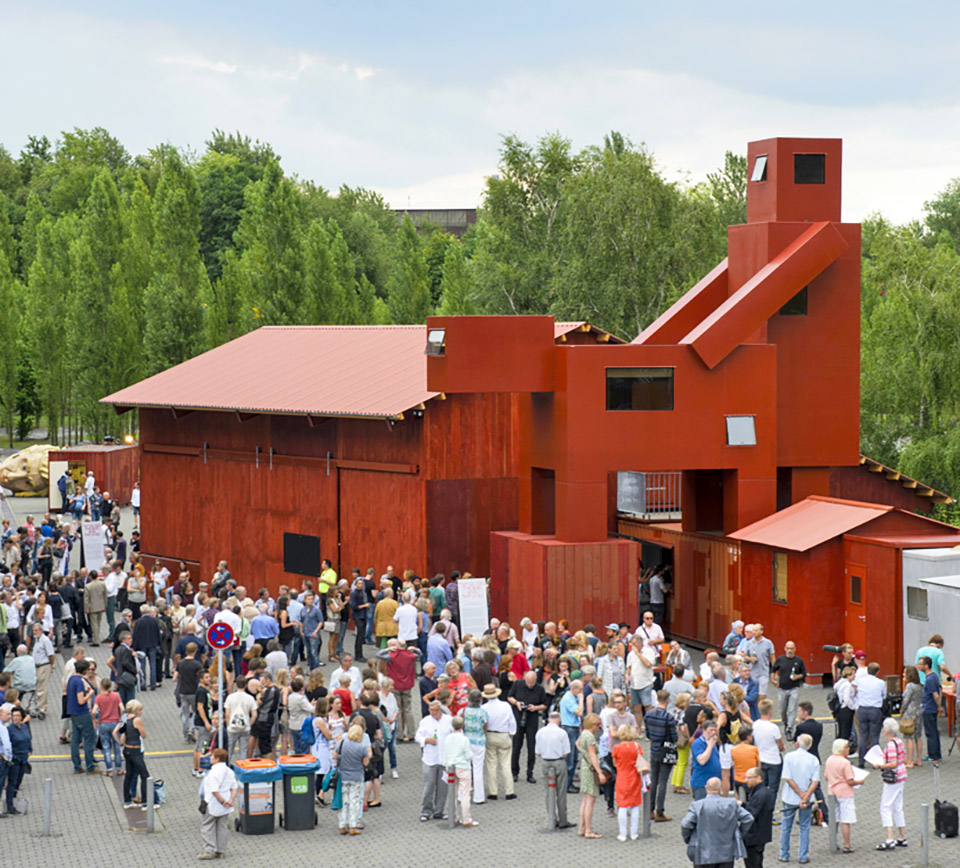 The Good The Bad The Ugly Architecture Installation by Atelier Van Lieshout – Ruhrtriennale 1