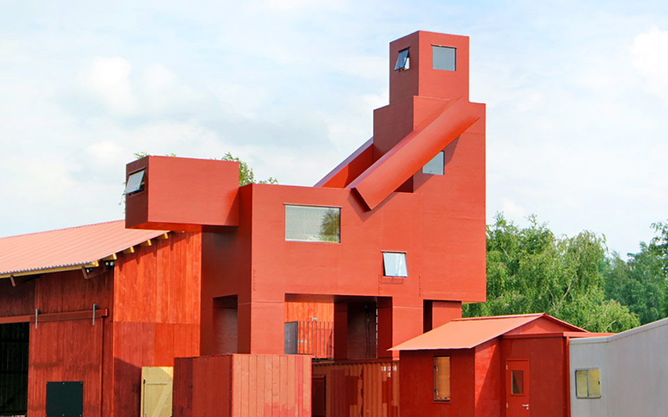 The Good The Bad The Ugly Architecture Installation by Atelier Van Lieshout – Ruhrtriennale 2