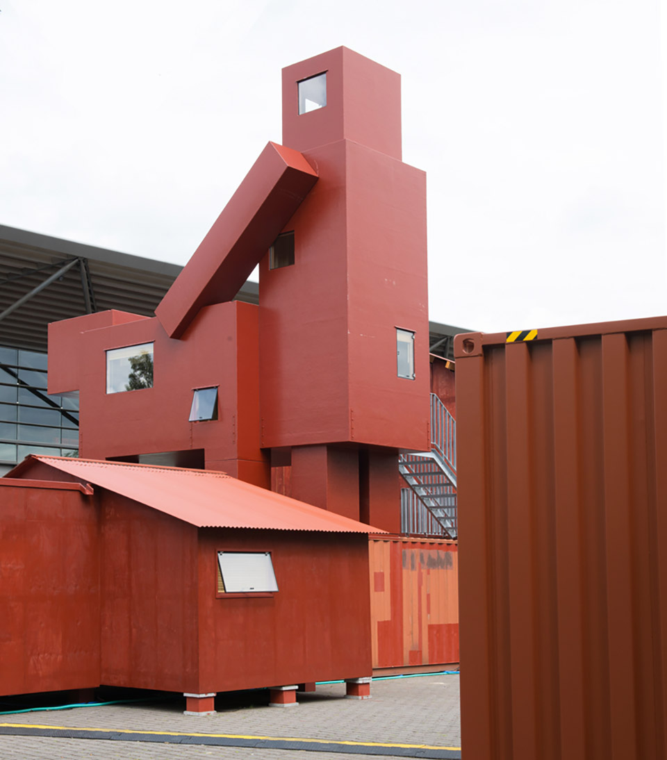 The Good The Bad The Ugly Architecture Installation by Atelier Van Lieshout – Ruhrtriennale 3