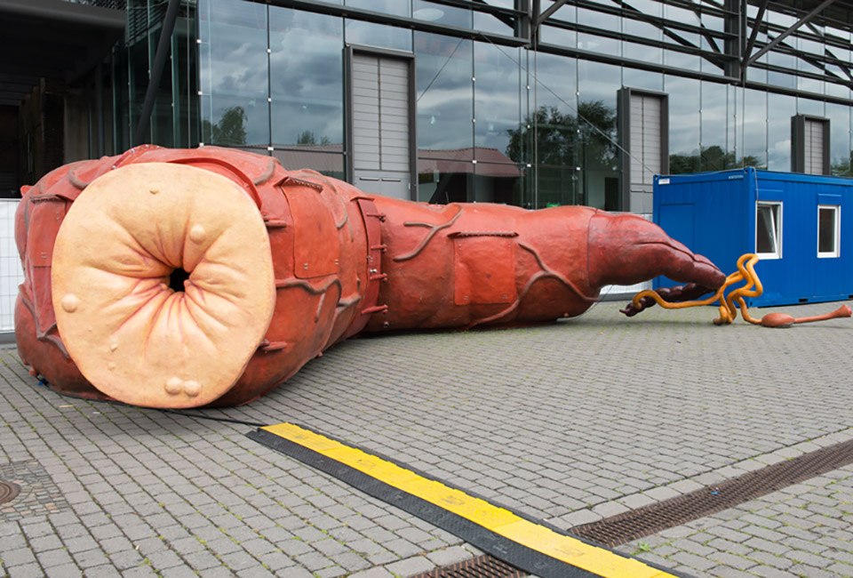 The Good The Bad The Ugly Architecture Installation by Atelier Van Lieshout – Ruhrtriennale 5