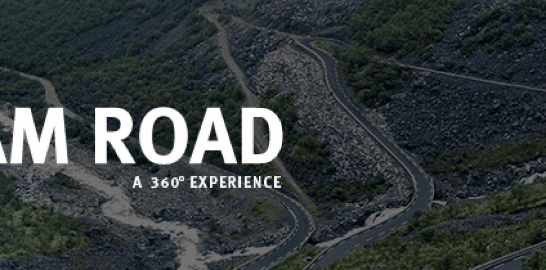 "Infiniti's Breathtaking ""DREAM ROAD"" 360 Degree Video"