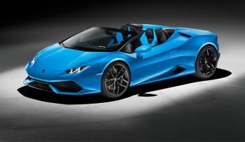 2017 Lamborghini Huracán Spyder 1