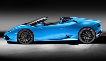 2017 Lamborghini Huracán Spyder 2