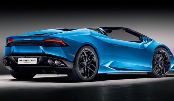 2017 Lamborghini Huracán Spyder 4