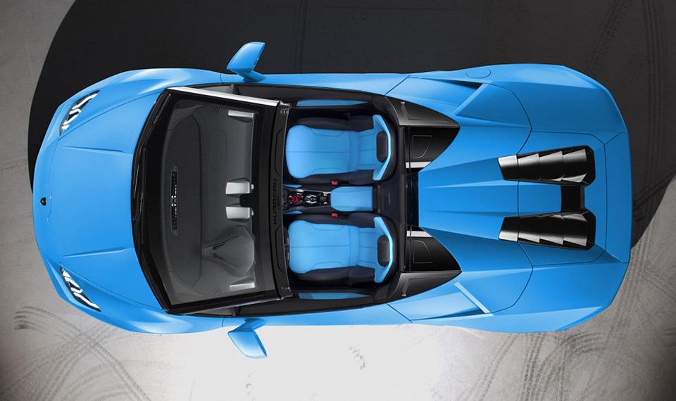 2017 Lamborghini Huracán Spyder 6