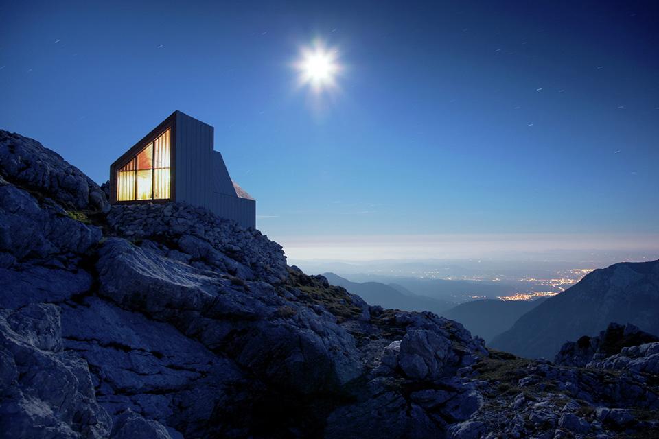 Alpine Shelter Skuta by OFIS arhitekti and AKT II and Harvard GSD Students 9