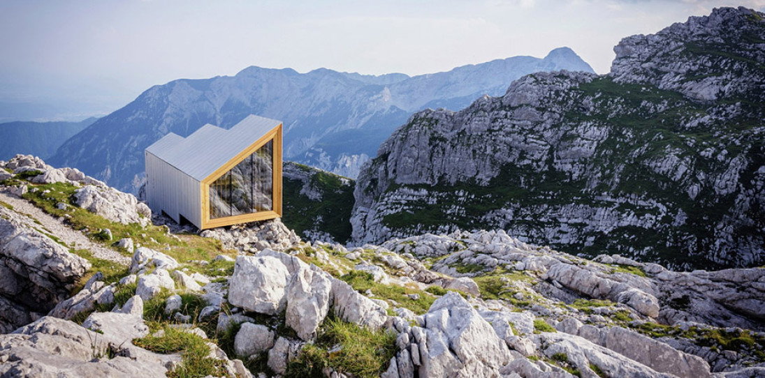 Alpine Shelter Skuta by OFIS arhitekti and AKT II and Harvard GSD Students