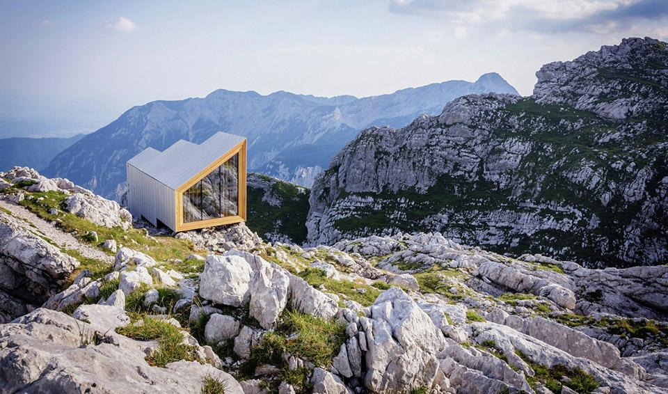Alpine Shelter Skuta by OFIS arhitekti and AKT II and Harvard GSD Students