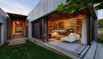 Coastal Concrete Contemporary - East House by Rose and Partners - Photography by Chuck Choi 17