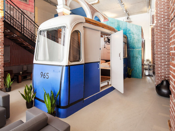 Hotel No Hotel 5 600x450 These Mad Scientist Hoteliers in Amsterdam Have Flipped The Script on Hotel Design