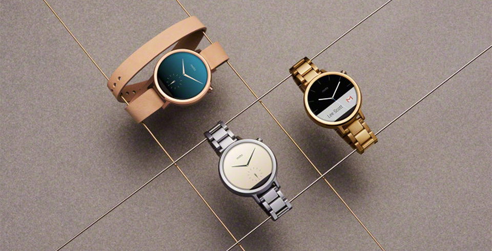 New Motorola Moto 360 Android Wear Watch 1