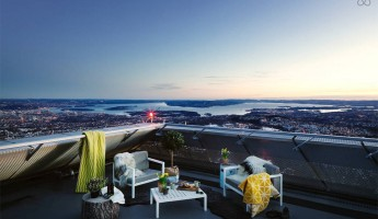 AirBnB-Mid-Century-Ski-Jump-Penthouse-in-Norway-5-960x637