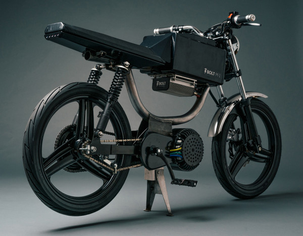 Bolt Motorbikes M1 Electric Motorcycle Moped 5 600x468 Meet the Perfect Powered Commuter Bike: the Bolt Motorbikes M1 Electric Moped