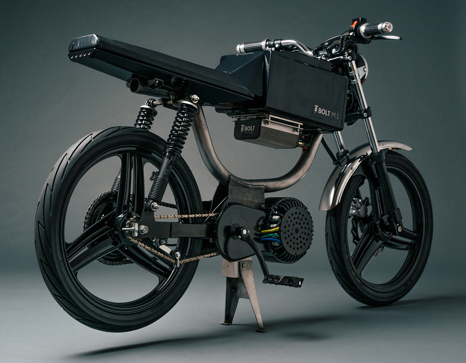 Bolt Motorbikes M1 Electric Motorcycle Moped 5